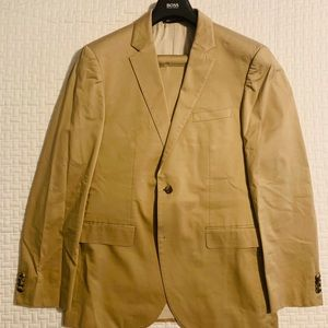 Hugo Boss Khaki Suit